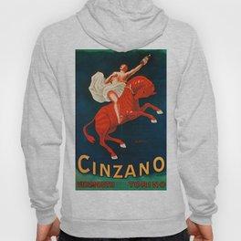 Vintage poster - Cinzano Vermouth Torino Hoody