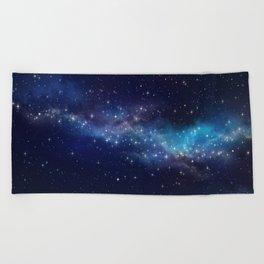 Floating Stars Beach Towel
