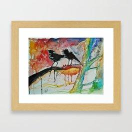 Spring Explosion  Framed Art Print