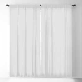 Ultra Light Gray Solid Color Pairs w/ Sherwin Williams 2020 Trending Color Rock Candy SW6231 Blackout Curtain