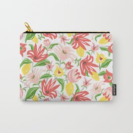 Island Garden Floral Carry-All Pouch