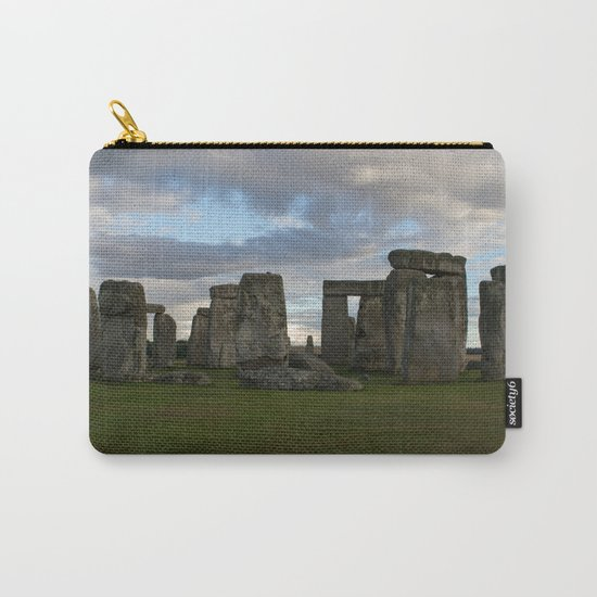 Stonehenge Landscape Carry-All Pouch