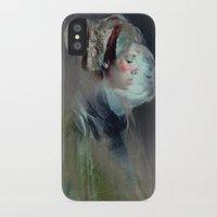 spiritual iPhone & iPod Cases featuring Self portrait by Feline Zegers