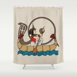 Journey To The Afterlife Shower Curtain