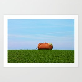 Rusted from the rain Art Print