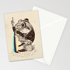 Strange Frog Stationery Cards