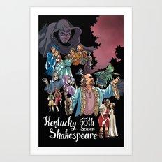 Kentucky Shakespeare 55 Season Art Print