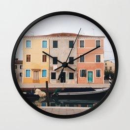 Burano I Wall Clock
