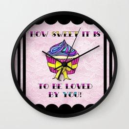 How Sweet It Is... Wall Clock