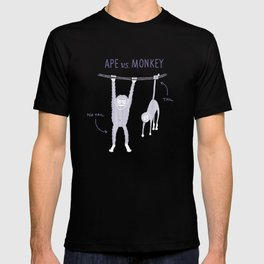 Ape vs. Monkey T-shirt