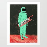 space jam Art Prints featuring Space Jam by Chase Kunz