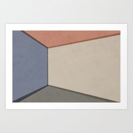Empty Room no.01 - Lonely Spaces Art Print