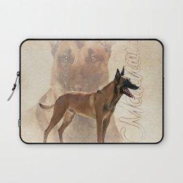 Malinois  - Belgian shepherd - Mechelaar Laptop Sleeve
