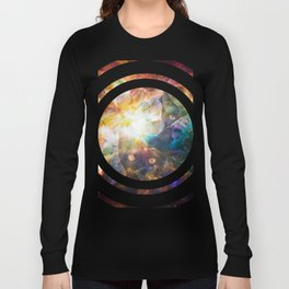 The Cat Galaxy Long Sleeve T-shirt