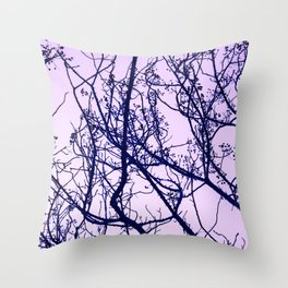 A tree branch 01 Throw Pillow
