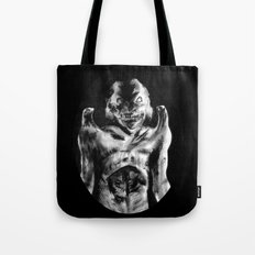 For Each Of Man's Evils A Special Demon Exists Tote Bag
