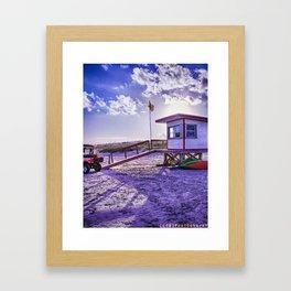 Coastal Framed Art Print