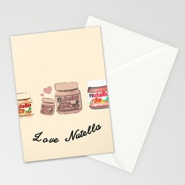 Nutella-324 Stationery Cards
