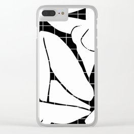 After Matisse nude in black and white Clear iPhone Case