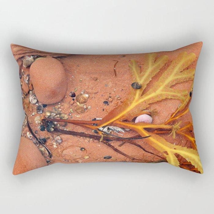Life on the Tidal Shelf in PEI Rectangular Pillow