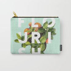 Flourish #society6 #buyart #typography #artprint Carry-All Pouch