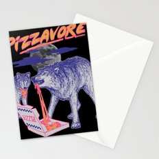 Pizzavore Stationery Cards