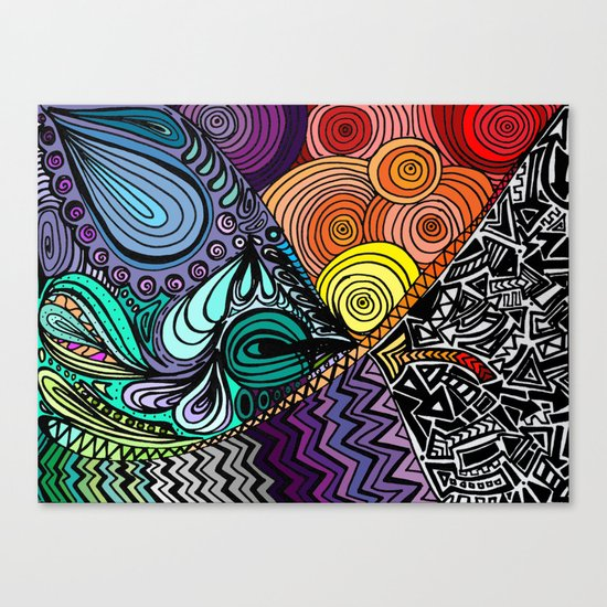 Extrovert Canvas Print