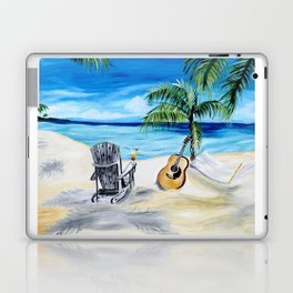 Beach Time with Martin Laptop & iPad Skin