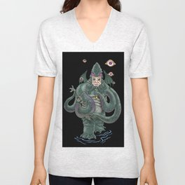 The Octopus Unisex V-Neck