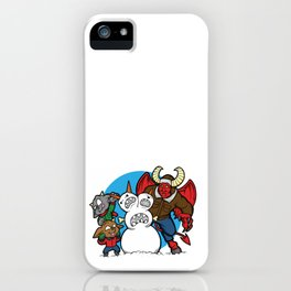 Hell Freezes Over Snowman iPhone Case