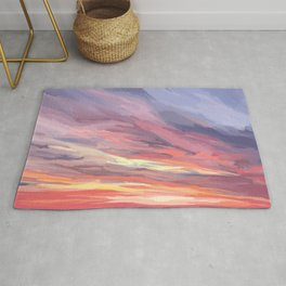Sunset on the St George River Rug