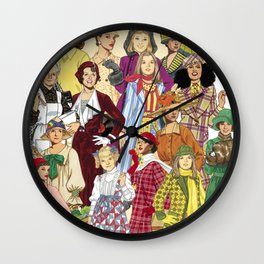 Womans Collection Wall Clock