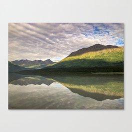 Sun on the Mountains  Canvas Print