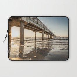 Picture Texas USA Port Aransas Sea Nature Coast Marinas Pier Berth Laptop Sleeve