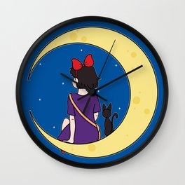 We Fly With Our Spirit. Wall Clock
