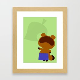 Animal Crossing Tom Nook Framed Art Print