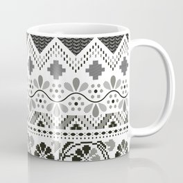 Layers of Culture - Decorative pattern based on the layers of soil Coffee Mug