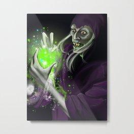 Lich Wizard By Ariesbrush Metal Print