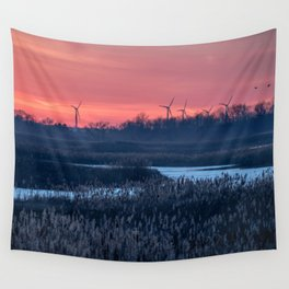 Long Point Sunsets Wall Tapestry