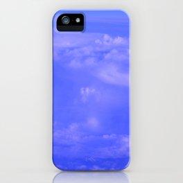 Aerial Blue Hues IV iPhone Case