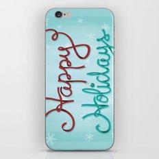 Holiday Ribbon iPhone & iPod Skin