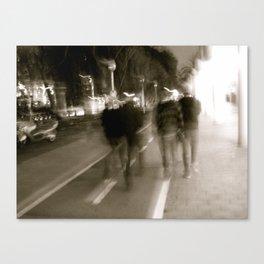 Nighttime Walks Canvas Print