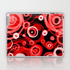 Just Red in the Round Laptop & iPad Skin
