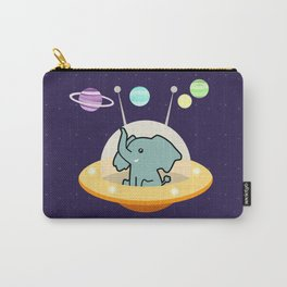Astronaut elephant: Galaxy mission Carry-All Pouch