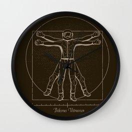 Bikerus Vitruvien Wall Clock