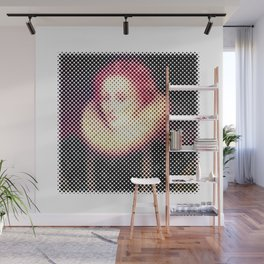 Dotted Queen Elizabeth I Wall Mural