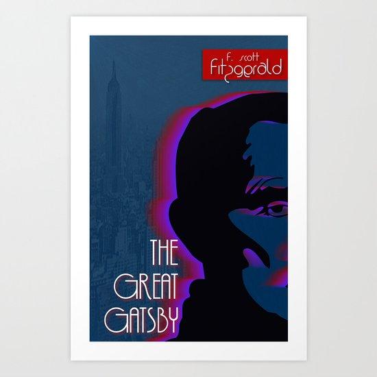 Great Gatsby Art Print