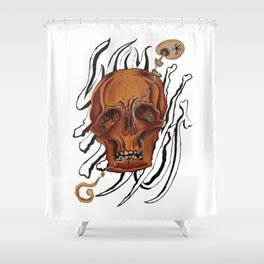 """""""Why Not"""" Shower Curtain"""