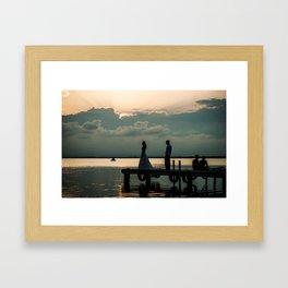 Albufera III Framed Art Print