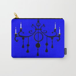 A Chandler with Candles and a Blue Background Carry-All Pouch